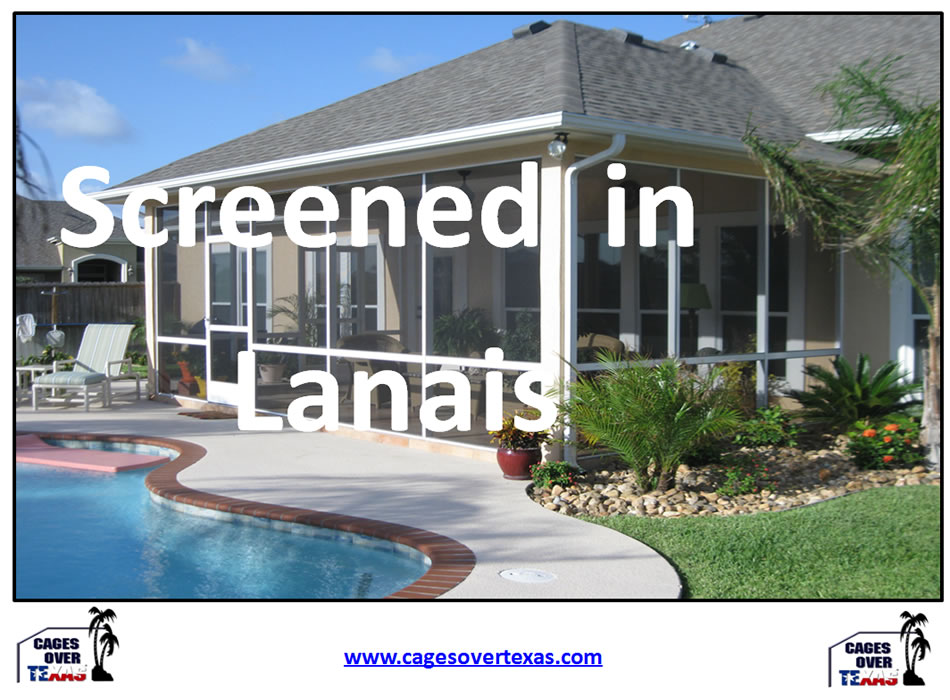 Charmant Screened Lanai Enclosures Houston TX | Builder Of Outdoor Pool, Lanai,Patio  Screened Enclosures