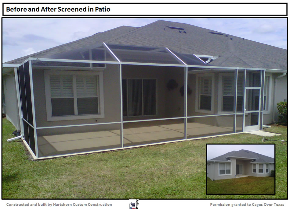 Patio Enclosures Houston TX | Builder Of Outdoor Pool, Lanai, Patio  Screened Enclosures