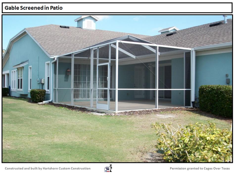 Patio screen enclosures houston patio enclosures houston for Pool enclosures houston