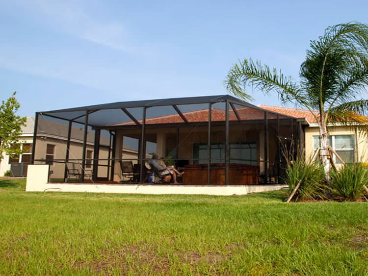 Patio Screened Enclosures for Texas Home owners.