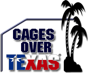 Cages over Texas Pool Enclosures